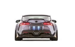 Picture Concept, Toyota, rear view, Supra, 3000GT, 2019, GR Above, A90, SEMA 2019