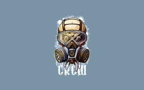 Picture Minimalism, Skull, Style, Gas mask, Background, Mask, Art, Art, Style, Sake, Background, Minimalism, Mask, Gas …