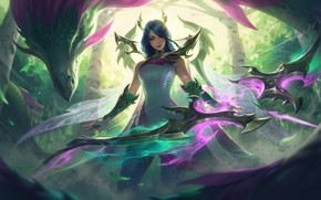 Picture Girl, lol, League of Legends, Ashe, League Of Legends, Riot Games, Ash, Ashe skin, Fae …