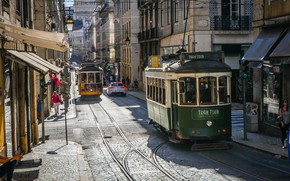 Picture Street, The way, Trams