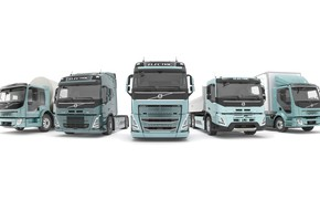 Picture 2021, electric vehicle, volvo trucks
