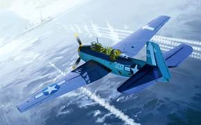 Picture USA, Grumman, US Navy, Avendger, TBM-3, Carrier-based bomber