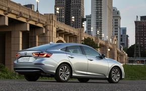 Picture bridge, Honda, sedan, Hybrid, Insight, hybrid, Touring, four-door, 2019