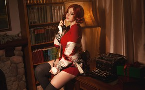 Picture The Witcher, cosplay, Triss Merigold, Triss Merigold, Triss