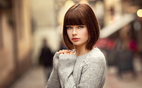 Picture look, street, model, Girl, hairstyle, beautiful, Lods Frank, Marie Grippon