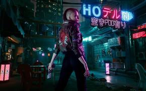 Picture future, rpg, video game, night city, CD Projekt RED, Cyberpunk 2077