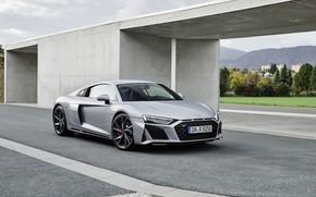 Picture Audi, supercar, Audi R8, Coupe, V10, 2020, RWD