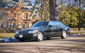 Picture Mercedes - Benz, W140, S600, 1999, Grand Edition
