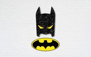 Picture logo, Figure, Batman, Batman, illustration