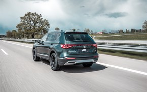 Picture speed, rear view, crossover, ABBOT, Seat, 2019, Tarraco