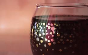 Picture macro, wine, glass
