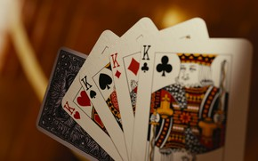 Picture card, the game, 4 king
