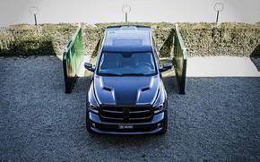 Picture the hood, top, Dodge, pickup, Ram, 2017, 1500 RX Crew Cab, Militem