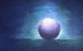 Picture ball, fantasy, twilight