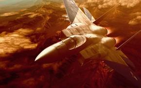 Picture fighter, McDonnell Douglas F-15 Eagle, Ace Combat Zero: The Belkan War, Arcade flight simulator