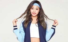Picture Girl, Music, Cute, Uniform, Twice, Tzuyu