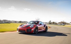 Picture 911, Porsche, turn, sports car, track, GT2 RS, 991 type II