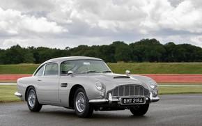 Picture grey, Aston Martin, 2020, DB5 Goldfinger Continuation