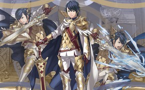 Picture guy, Heroes, knight, Fire Emblem
