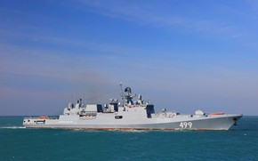 Picture ship, guard, the project 11356, Admiral Makarov