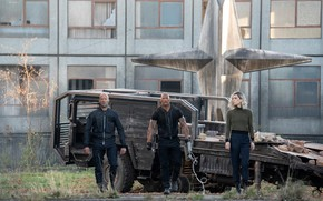 Picture machine, trio, abandoned building, Fast & Furious Presents: Hobbs & Shaw, The fast and the …