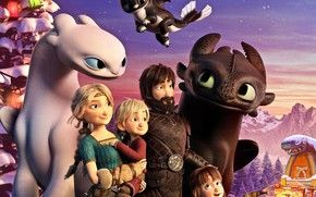 Picture dragons, family, How to Train Your Dragon, How to train your dragon 3, How to …