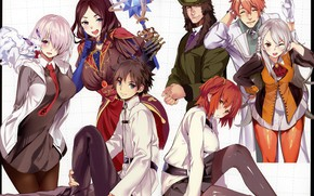 Picture characters, Fate / Grand Order, The destiny of a great campaign