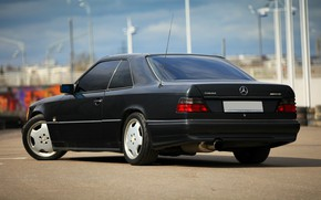 Picture Mercedes-Benz, Mercedes, Mercedes, Coupe, Coupe, W124, Мерседес бенц