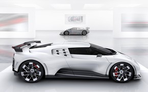 Picture Bugatti, generation, hypercar, One hundred and ten