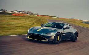 Picture asphalt, Aston Martin, coupe, Vantage, track, Manual transmission, AMR, 2019, 510 HP, 4 L., V8 …