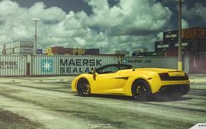 Picture Lamborghini, Gallardo, Spyder