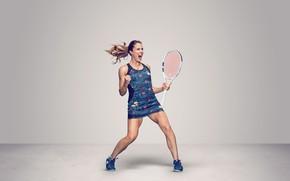 Picture Sport, Tennis, French, WTA, Alize Cornet, Alize, Cornet