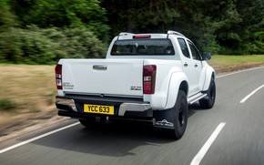 Picture pickup, feed, Isuzu, 2016, Arctic Trucks, D-Max, UK version, AT35