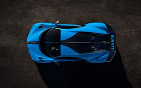 Picture Bugatti, the view from the top, hypercar, Chiron, 2020, Pur Sport