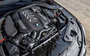 Picture engine, coupe, BMW, 2018, 8-Series, 2019, M850i xDrive, Eight, G15