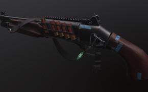 Picture rendering, weapons, gun, shotgun, weapon, render, bleed, shotgun, sawn-off shotgun, have beneli, beneli