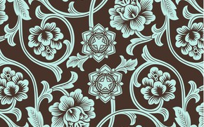 Picture retro, background, pattern, ornament