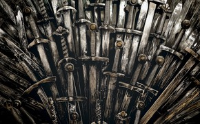 Picture The throne, The Iron Throne, swords, games of thrones, Iron, Iron Throne, fantasy • fiction …