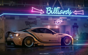 Picture Need for Speed, BRZ, Subaru BRZ, NFS 2015, Transport & Vehicles, by JREEL, JREEL, by …