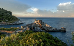 Picture Liguria, Portovenere, Portovenere morning