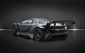 Picture rear view, 2018, Bertone, Dianche, Dianche Bertone BSS GT One, BSS GT One