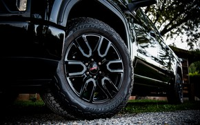 Picture wheel, pickup, 2018, GMC, Sierra, Crew Cab, 2019, Elevation