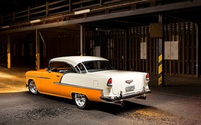 Picture Car, Classic, Bel Air, Coupe, Chevy, Old