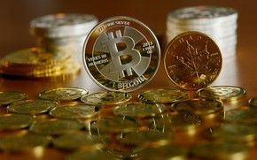 Wallpaper currency, money, Bitcoin, currency, coin, logo