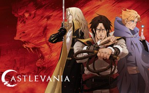 Picture anime, art, characters, Castlevania