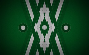 Picture background, color, green, geometry, figure