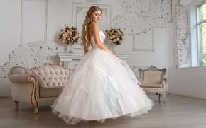 Picture girl, dress, the bride, wedding, Igor Kondukov