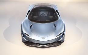 Picture McLaren, front view, hypercar, 2019, Speedtail