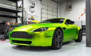 Wallpaper Aston Martin, Vantage, Hybrid, Forged, HF-1