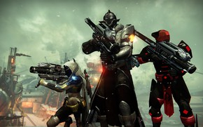 Picture Hunter, Destiny, Warlock, Titan